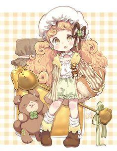 #はちみつの日pic.twitter.com/e7QMQsyvFX Cute Anime Chibi, Kawaii Chibi, Kawaii Anime Girl, Kawaii Art, Anime Art Girl, Chibi Characters, Cute Characters, Kawaii Drawings, Cute Drawings