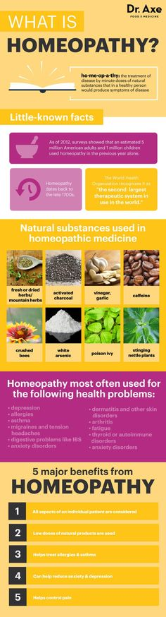 "By definition homeopathy is ""the treatment of disease by minute doses of natural substances that in a healthy person would produce symptoms of disease."" (1) In other words, it's an alternative medicinal practice that uses the smallest possible amount of an active ingredient in order to help treat or cure a disease, even if this same ingredient can contribute to … Read More"