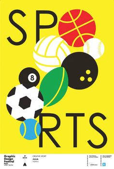 It's Nice That   Graphic Design Festival Paris reveals 19 sport-inspired posters by Hort, Julia, Spassky Fischer and more