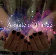 a state of trance.✨