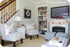Naptime Decorator: Tips for Family Room Seating