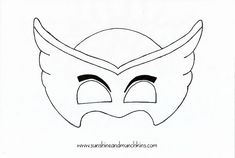 Make Owlette and Cat Boy masks from PJ Masks for way less than you can buy, plus they'll actually fit! Includes PDF for each mask. Pj Masks Costume, Diy Baby Costumes, Costumes Kids, Mascaras Pj Masks, Pj Mask Cupcakes, Villain Mask, Pj Masks Birthday Cake, Mardi Gras, Super Hero Day