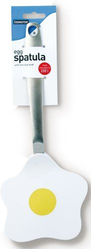 Eddingtons Egg Spatula, Large - Fun, non-slip head that is perfect for flipping eggs, omelettes and pancakes. Spatula handle is stainless steel. Hanging pack.  - http://irishcakesupplies.com/wp-content/uploads/2014/01/31-giuuiwhL.jpg - #Eddingtons, #Egg, #Large, #Spatula  - http://wp.me/p2Sdif-4FG