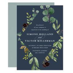 ab6dfc5f286e Eucalyptus Grove Wedding Invitation  weddinginvitation Botanical Wedding  Invitations