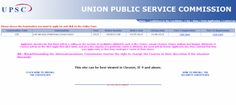 UPSC Released Notification for Civil Services Exam 2015