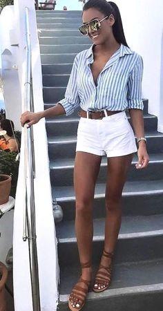 c3b5b88b 43 Cute Women Summer Outfits 2019 #CasualOutfits #CuteCasualOutfits  #ReadyToMeal #SummerOutfits #WomenSummerOutfits
