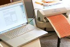 Tips for cutting fabric on your silhouette! I'm def. trying this!