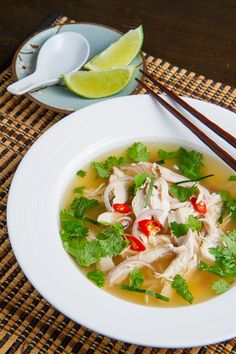 Tom Yum Gai (Thai Hot and Sour Chicken Soup) - Closet Cooking