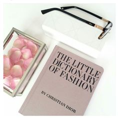 """""""The little dictionary of fashion"""". #Dior #BardiFotoOttica"""