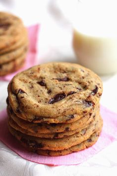 Cookie Recipes, Snack Recipes, Dessert Recipes, Snacks, Desserts, Sweet Cookies, No Bake Cookies, Baking Cookies, Yummy Food