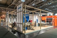 Juki / 99 sqm Trade fair: ISPO Design and construction: Smart Design Expo Trade Fair, Juki, Smart Design, Construction, Building, Intelligent Design