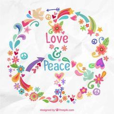 signo de la paz de colores - Buscar con Google
