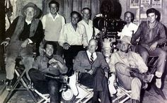 "From 1959 Ricky with the main cast and crew of ""Rio Bravo"""