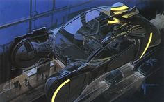 cars by Syd Mead. -Future cars by Syd Mead. - Cyberpunk ArtStation - Dante Liu Syd Mead's design for the spinner car from Blade Runner . a spin in the country - Syd Mead Blade Runner Spinner, Art Cyberpunk, Cyberpunk 2020, Syd Mead, 70s Sci Fi Art, Blade Runner 2049, Retro Futuristic, Tumblr, Matte Painting