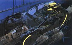 Syd Mead. Blade Runner Concept Art