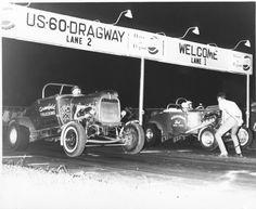 Old School Street Roadsters US 60 Dragway