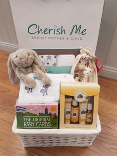 Cherish Me Dublin Baby Shower Hamper, Baby Gift Hampers, Unique Baby Gifts, Personalized Baby Gifts, Stroller Cover, Baby Comforter, Baby Swaddle, Baby Cards, Special Gifts