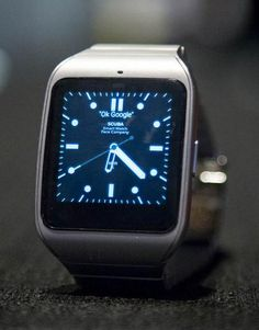 The SmartWatch 3 now comes in durable steel.