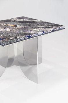 Tino Seubert Credenza Regalvanize by Paul Scala Diy Home Furniture, Funky Furniture, Design Furniture, Table Furniture, Furniture Making, Furniture Makeover, Furniture Projects, Table En Granit, Granite Table