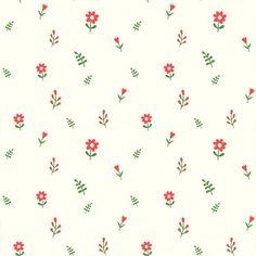 Flowers Seamless Pattern Background