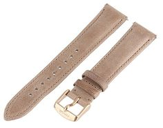 Fossil Womens S181194 18mm Leather Watch Strap  Tan *** Click on the image for additional details.