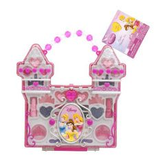 Disney Princess Castle Play Make Up Set (Hang Tag) by Jakks. $25.95. From the Manufacturer                Look as pretty as a princess with the Disney Princess Make-up Case Set. This Disney Princess Set has everything a little Princess needs to get ready for the Ball.                                    Product Description                Look as pretty as a princess with the Disney Princess Make-up Case Set. This Disney Princess Set has everything a little Princess needs...