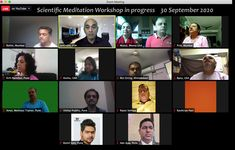Good response to my Scientific Meditation Workshop. Wednesday Online Training session by 30 September 2020 Achieving Goals, Meditation Techniques, No Response, Workshop, Youtube, Atelier, Youtubers, Youtube Movies