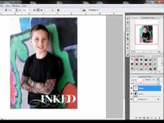 Designer Digitals - text on photo