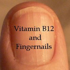 Vitamin B12 for healthy nails