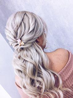 Little Princess, Makeup Yourself, Knit Crochet, Flora, Dreadlocks, Long Hair Styles, Bridal, Make Up, Beautiful