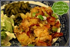 Sweet Tea and Cornbread: Loaded Baked Potato & Chicken Casserole!
