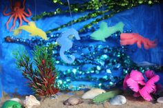 Inspo from our friends! How To Make An Ocean Diorama Ocean Projects, Animal Projects, Science Projects, School Projects, Projects To Try, School Ideas, Fun Crafts, Crafts For Kids, Arts And Crafts
