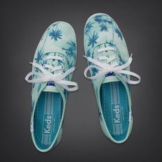 9e02aff8a0 Hollister + Keds Champion Tropical Print Sneakers Girls Sneakers, Nike  Sneakers, Keds Shoes,