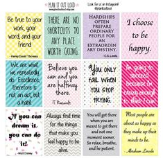 Full box Inspirational quotes background stickers (planner stickers)