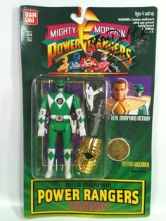 Mighty Morphin Power Rangers TOMMY THE GREEN « Game Searches