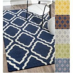 Shop for nuLOOM Handmade Modern Trellis Wool Rug (9' x 12'). Get free shipping at Overstock.com - Your Online Home Decor Outlet Store! Get 5% in rewards with Club O!