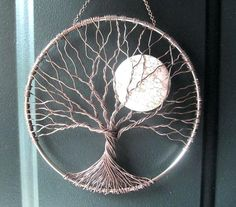 wire tree wall hanging home decor calming tree wire tree of life wall hanging sun catcher tree decor with moon wall decor diy