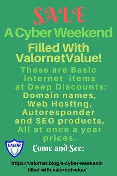 Join Us for A Cyber Weekend Filled with ValornetValue! Make Money Online, How To Make Money, Vegetable Garden, Internet Marketing, Free Gifts, Cyber, Seo, Survival, Gardens