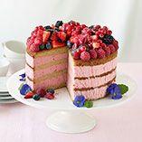 Marjainen täytekakku ilman reunakoristelua - Reseptejä Finland I Love Food, Cheesecake, Sweets, Baking, Desserts, Recipes, Country, Kitchen, Tailgate Desserts