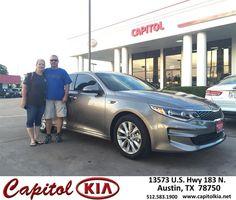 https://flic.kr/p/N4QTVC | Congratulations Pamela on your #Kia #Optima from Ivan Rodriguez at Capitol Kia! | deliverymaxx.com/DealerReviews.aspx?DealerCode=RXQC
