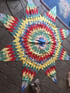 Vintage Lone Star Hand Stitched Quilt Top Unfinished Finish or Repurpose | eBay