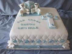 Baptism Cakes Sayings — Classic Style Baby Baptism Cakes Ideas – Best Cakes Collections Baby Christening Cakes, Baby Boy Baptism, Baptism Cakes, Confirmation Cakes, Baby Dedication Cake, Dedication Ideas, Baptism Sheet Cake, Boys First Communion Cakes, Baptism Themes