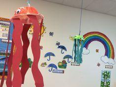 #Toddler Squid paintings. #PalmCoast #Preschool #VPK