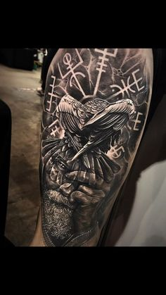 Odin, lead me there - Nordic and Celtic back tattoo . - Odin, lead me . - Odin, lead me there – Nordic and Celtic back tattoo … Odin, lead me there – Nordic and Ce - Viking Tattoo Sleeve, Viking Tattoo Symbol, Norse Tattoo, Viking Tattoo Design, Druid Tattoo, Valkyrie Tattoo, Armor Tattoo, Hand Tattoos, Forearm Tattoos