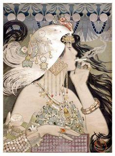1920's art nouveau by Manuel Orazi