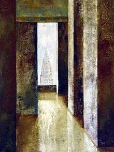 FERNANDO VIGNOLI (1960/2016), BRAZILIAN EXPRESSIONIST PAINTER – Painting doors, walls and water - Meeting Benches