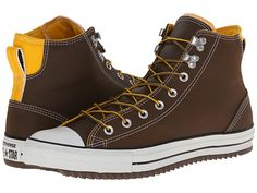 Converse Chuck Taylor® All Star® City Hiker Hi Chocolate/Wild Honey - Zappos.com Free Shipping BOTH Ways