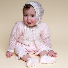 Girls Baby Knit Sweater - Belle Collection | Cute Baby Girl Clothes