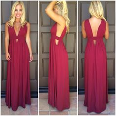 http://www.daintyhooligan.com/collections/dresses/products/kenya-cutout-maxi-dress-burgundy-1 $43