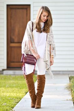 over the knee boots | how to style over the knee boots | how to wear over the knee boots | how to style over the knee boots | fall fashion | fall style | fashion for fall | style ideas for fall | cool weather fashion | fashion tips for fall || a lonestar state of southern